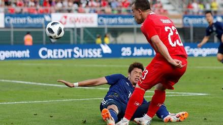 Suiza derrotó 2-0 a Japón y acentuó la crisis de los nipones