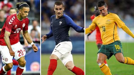 Así llegan los rivales mundialistas de la Selección Peruana a Rusia 2018
