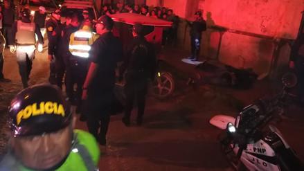 Dos delincuentes son heridos cuando huían tras asaltar multiservicios