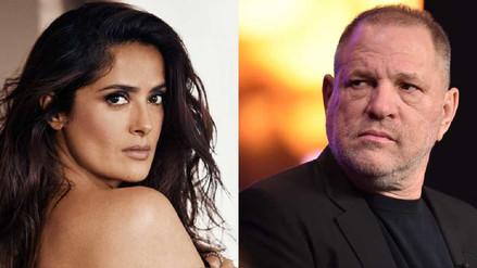 Salma Hayek silenció los abusos de Harvey Weinstein para proteger a sus colegas