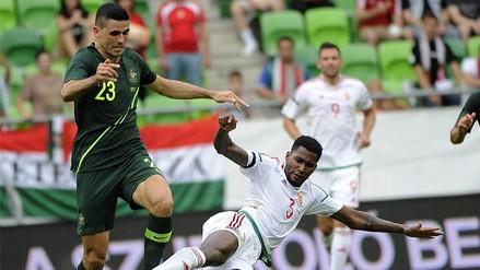 Australia venció 2-1 a Hungría en su último amistoso antes de Rusia 2018