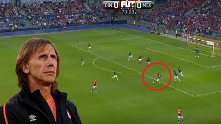 El golazo de Poulsen ante México previo al duelo ante la Selección Peruana