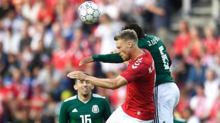 Dinamarca venció 2-0 a México antes de su debut en Rusia 2018
