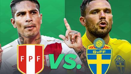 Perú vs. Suecia: canal, alineaciones y hora del amistoso previo a Rusia 2018