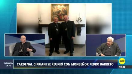 """Cipriani sobre Barreto: """"Tenemos diferentes opiniones, pero también unidad en temas importantes"""""""
