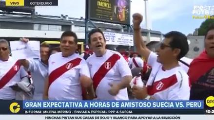 Así vivieron los hinchas la previa del partido Perú vs. Suecia