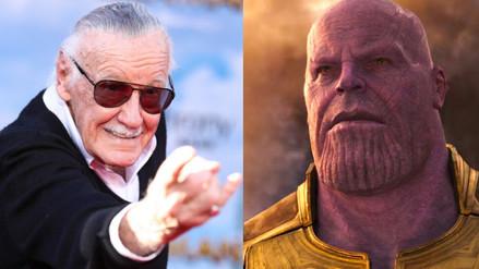 Stan Lee amenazó a Thanos por destruir a la mayoría de sus personajes