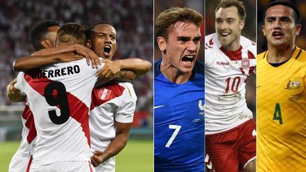 Así están ubicados los rivales de la Selección Peruana en el ránking FIFA