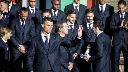 La selección de Portugal ya está en Rusia