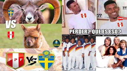 Selección Peruana protagonizó los memes previo al duelo ante Suecia