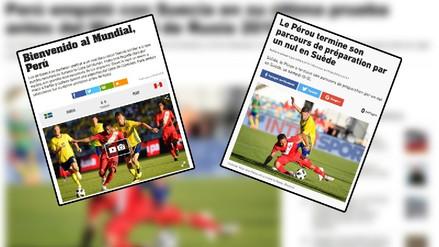En los ojos del mundo: las portadas sobre el empate de Perú ante Suecia