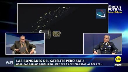 El satélite Perú SAT-1 se ha usado para monitorear volcanes, cauces de ríos y movimiento de tierras