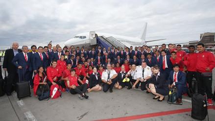 La Selección Peruana ya se encuentra en Rusia para disputar el Mundial