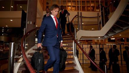La Selección Peruana se dirigió al aeropuerto para tomar su vuelo a Rusia