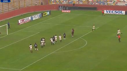 Juan Vargas empató el Universitario vs. Ayacucho FC con un golazo de tiro libre