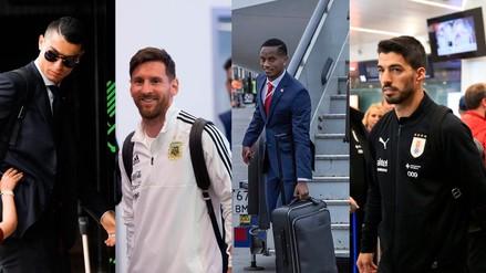 Estas son las selecciones que ya llegaron a Rusia para el Mundial