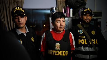 Policía captura a cabecilla de banda de minería ilegal 'Los Dorados del Oriente' en San Martín de Porres