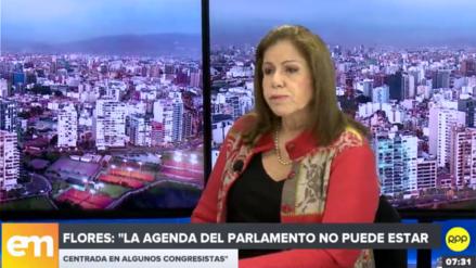 Lourdes Flores: En el Gobierno de Vizcarra hay temor, fruto del shock de la caída de PPK