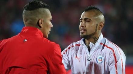 Arturo Vidal dispuesto a jugar con Paolo Guerrero en Flamengo