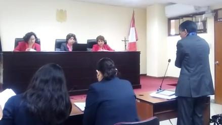 Sala determinará si ratifica o no sentencia contra gobernador Acuña