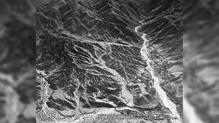 Archivo de Gonzalo de Reparaz recupera la primera imagen aérea del Cañón del Colca [FOTOS]