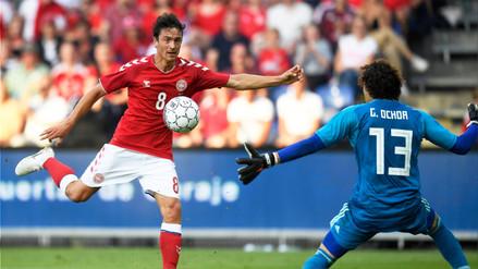 Futbolista danés confesó que es daltónico antes del debut ante la Selección Peruana