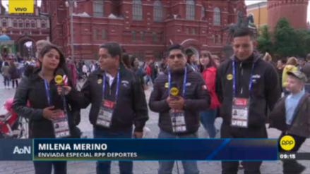 Equipo de RPP llegó a Rusia 2018 esperando el debut de la Selección Peruana