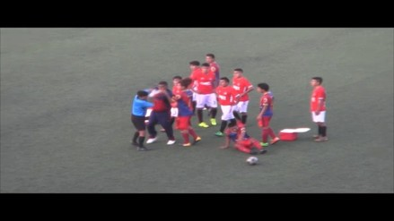 Violencia contra los árbitros, la otra cara del fútbol liberteño