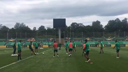 Australia realizó su primer entrenamiento en Rusia 2018
