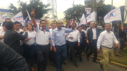 Candidatos por APP se inscribieron en Jurado Electoral de Trujillo