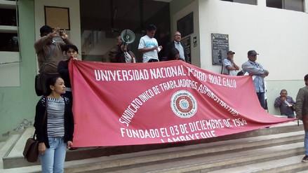 En la UNPRG continuarán con huelga pese a que fue declarada ilegal