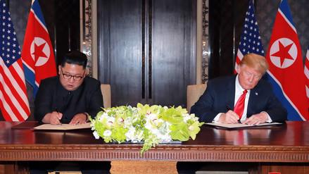 Gobierno peruano saludó encuentro entre Donald Trump y Kim Jong Un