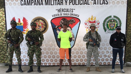 Capturan en Colombia a hermano de alias