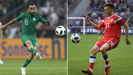 Rusia choca ante Arabia Saudita en el partido inaugural de la Copa del Mundo