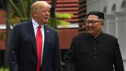 Así se dio la primera reunión entre Donald Trump y Kim Jong-un en Singapur