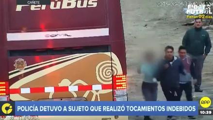 Una terramoza se defendió de tocamientos indebidos en Cañete