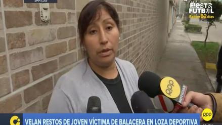Madre de la joven baleada en San Luis dijo que la Policía ya tiene identificado al asesino