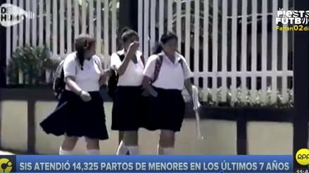 Embarazo en niñas y adolescentes se incrementó en 11 regiones del Perú en el 2017