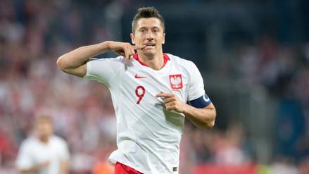 Polonia derrotó 4-0 a Lituania con dos goles de Robert Lewandowski