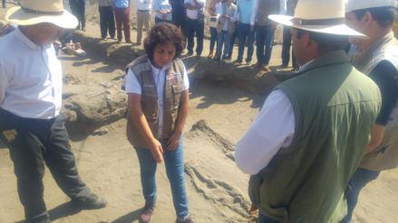 Ministra de Cultura presenta hallazgos en Chan Chan y Huanchaco