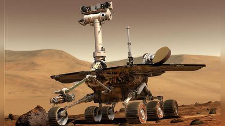 Robot de la NASA queda inoperativo tras tormenta de polvo en Marte