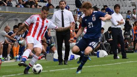 Japón goleó a Paraguay y rompió su racha negativa antes del Mundial