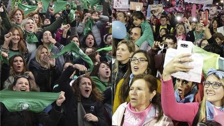 Congreso de Argentina discute la despenalización del aborto en medio de un debate nacional