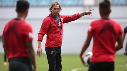 Gareca prueba con Carrillo o Farfán la oncena para el partido contra Dinamarca