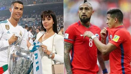 Novia de Cristiano Ronaldo se burló de Chile con una curiosa imagen