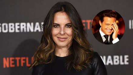 Revelan que a Kate del Castillo le avergonzaba salir con Luis Miguel