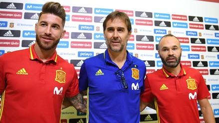 España despidió a Julen Lopetegui a un día del inicio del Mundial