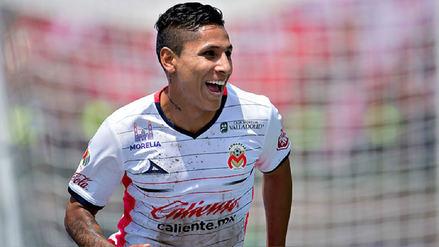 Raúl Ruidíaz dejó el Monarcas Morelia y fichó por el Seattle Sounders