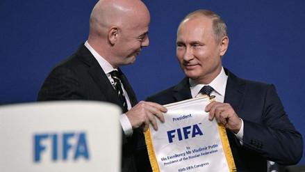 """Gianni Infantino: """"Rusia 2018 va a ser el mejor mundial de la historia"""""""