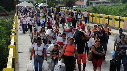 Un millón de personas migró de Venezuela a Colombia en los últimos 15 meses